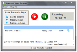 skype call video recorder