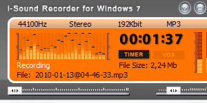 audio recorder for windows 10 and 7